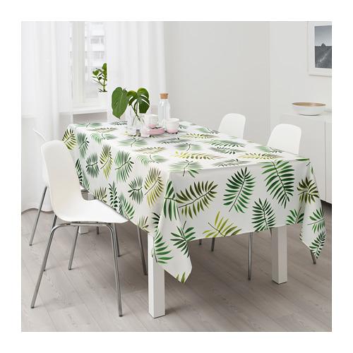 RUNDARE - 檯布, 綠色/葉 | IKEA 香港及澳門 - PE712972_S4
