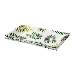 RUNDARE - 檯布, 綠色/葉 | IKEA 香港及澳門 - PE712971_S3
