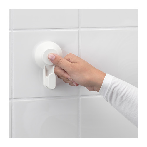 TISKEN toilet roll holder with suction cup