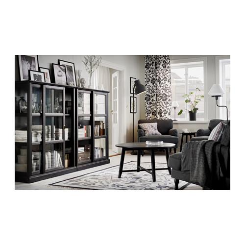 MALSJÖ - glass-door cabinet, black stained   IKEA Hong Kong and Macau - PH132806_S4