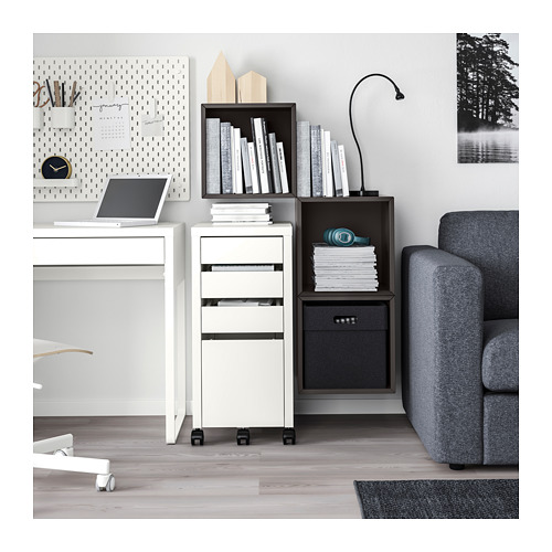 EKET - wall-mounted cabinet combination, dark grey | IKEA Hong Kong and Macau - PH161200_S4