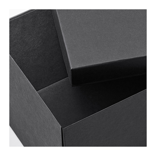 TJENA - storage box with lid, black | IKEA Hong Kong and Macau - PE664429_S4