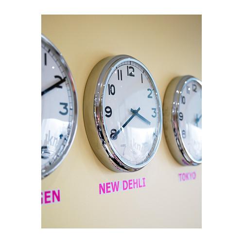 PUGG - wall clock, stainless steel | IKEA Hong Kong and Macau - PE213713_S4