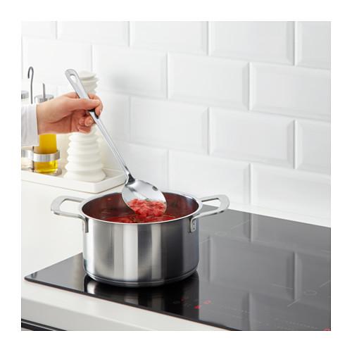 GRUNKA - 4-piece kitchen utensil set, stainless steel   IKEA Hong Kong and Macau - PE610108_S4