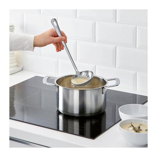 GRUNKA - 4-piece kitchen utensil set, stainless steel   IKEA Hong Kong and Macau - PE610110_S4