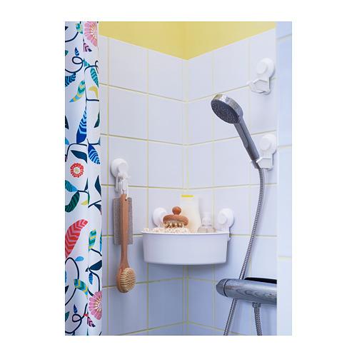 TISKEN - 角位層架組合連吸盤, 白色 | IKEA 香港及澳門 - PH158011_S4