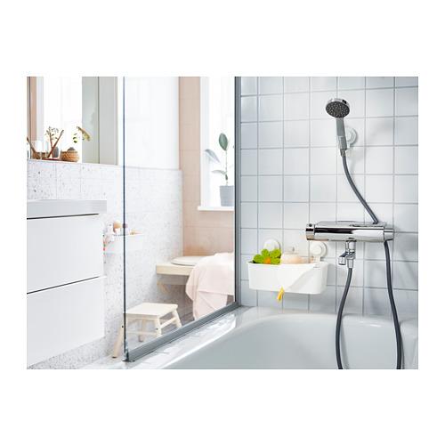 TISKEN - 貯物籃連吸盤, 白色 | IKEA 香港及澳門 - PH159605_S4