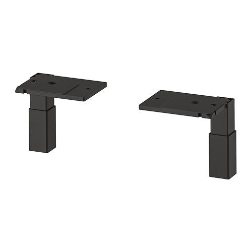 ENHET - 櫃腳, 炭黑色 | IKEA 香港及澳門 - PE809542_S4
