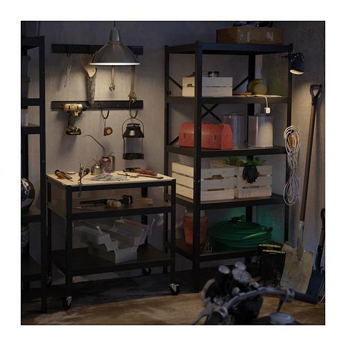 BROR - 層架組合, 85x55x190 cm, 黑色 | IKEA 香港及澳門 - PE713104_S4