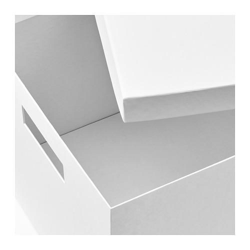 TJENA - 連蓋貯物盒, 白色 | IKEA 香港及澳門 - PE664489_S4