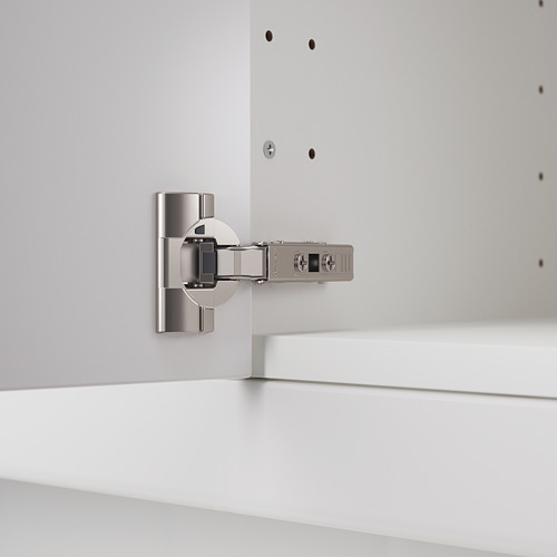 UTRUSTA hinge w b-in damper for kitchen