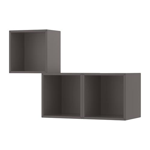 EKET - 上牆式貯物組合, 深灰色 | IKEA 香港及澳門 - PE713338_S4