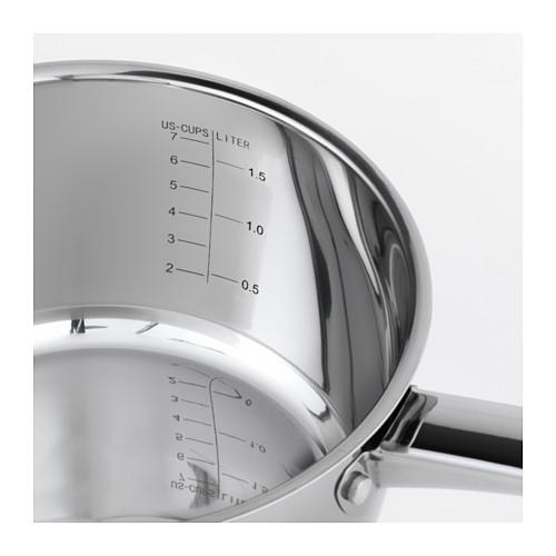 OUMBÄRLIG - 連蓋平底鍋 2 升, 不銹鋼 | IKEA 香港及澳門 - PE610364_S4