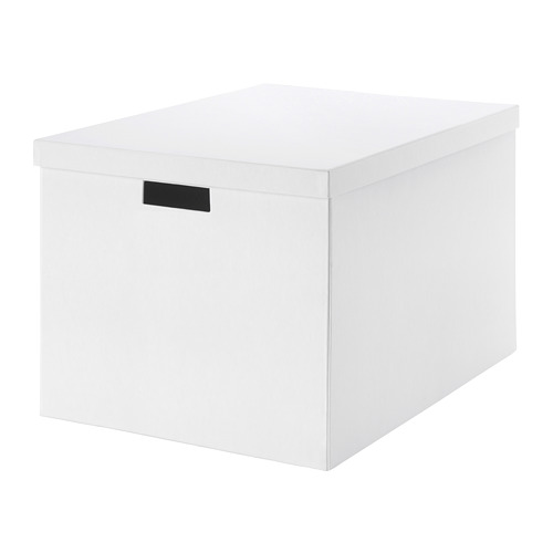 TJENA - storage box with lid, white | IKEA Hong Kong and Macau - PE664565_S4