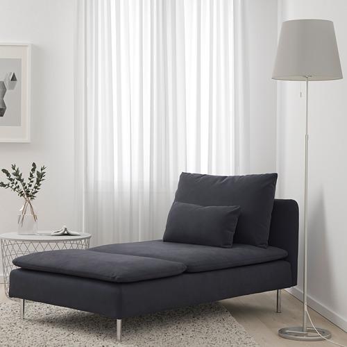 SÖDERHAMN - chaise longue, Samsta dark grey | IKEA Hong Kong and Macau - PE713383_S4