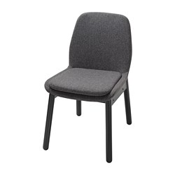 VEDBO - 椅子, 黑色/Gunnared 深灰色 | IKEA 香港及澳門 - PE753696_S3