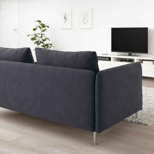 SÖDERHAMN - corner sofa, 6-seat, Samsta dark grey | IKEA Hong Kong and Macau - PE713432_S4