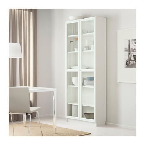 BILLY/OXBERG - bookcase, white | IKEA Hong Kong and Macau - PE610445_S4