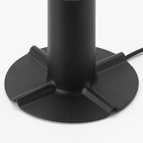 SKALLRAN - 座檯燈座, 深灰色/金屬   IKEA 香港及澳門 - PE753742_S4