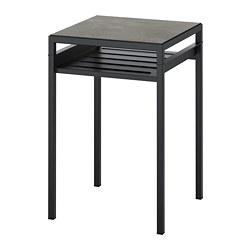 NYBODA - 角几, 深灰色 仿混凝土/黑色 | IKEA 香港及澳門 - PE753811_S3