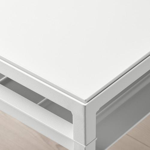 NYBODA - 茶几, 淺灰色 仿混凝土/白色   IKEA 香港及澳門 - PE753816_S4