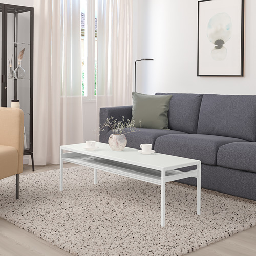 NYBODA - 茶几, 淺灰色 仿混凝土/白色   IKEA 香港及澳門 - PE753817_S4