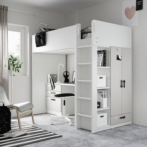SMÅSTAD loft bed