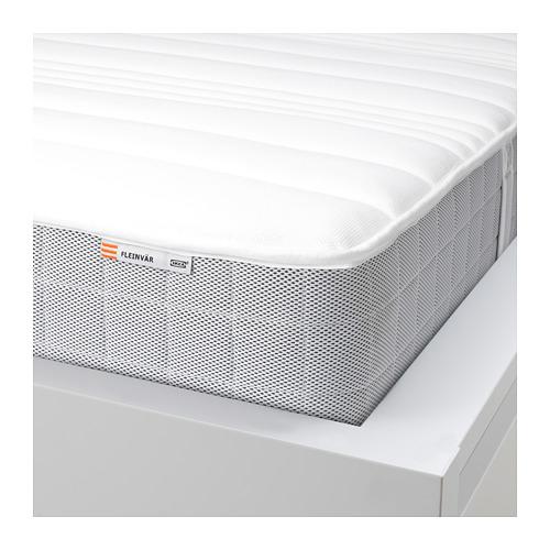 FLEINVÄR 標準雙人獨立袋裝彈簧床褥, 超特級承托