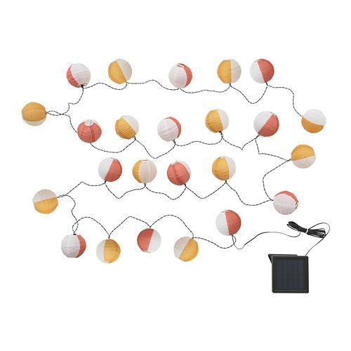 SOLVINDEN 24頭LED燈串