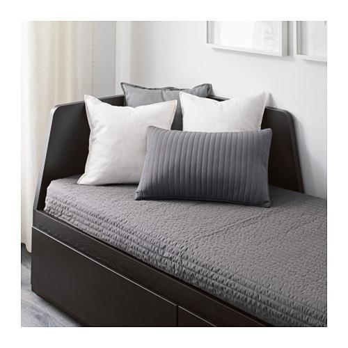 FLEKKE - 日間床連2抽屜及2床褥, 棕黑色/Malfors 高度承托   IKEA 香港及澳門 - PE610752_S4