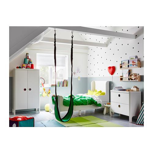 BUSUNGE - extendable bed, white   IKEA Hong Kong and Macau - PH133643_S4