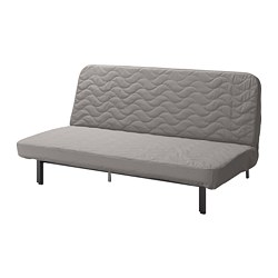 NYHAMN - 3-seat sofa-bed, with pocket spring mattress/Knisa grey/beige | IKEA Hong Kong and Macau - PE754069_S3
