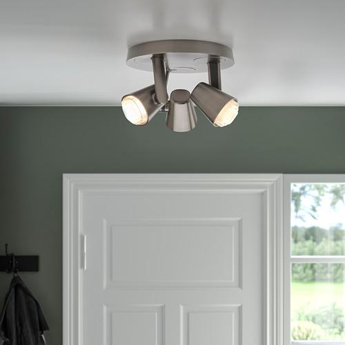 MONAZIT - 三頭天花射燈, 鍍鎳   IKEA 香港及澳門 - PE810127_S4