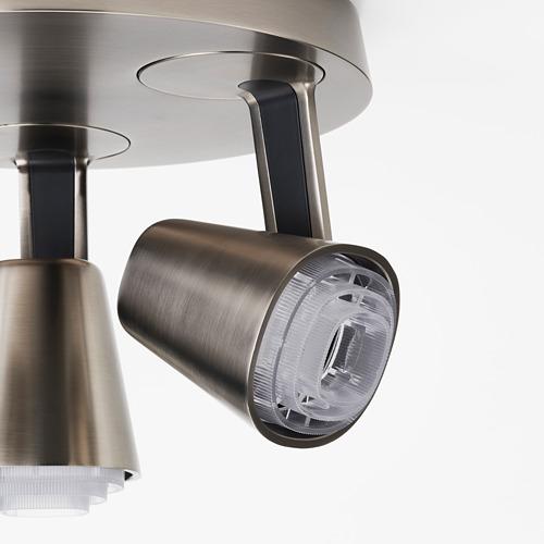 MONAZIT - 三頭天花射燈, 鍍鎳   IKEA 香港及澳門 - PE810126_S4