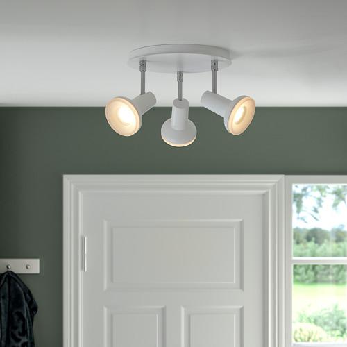 STRATOSFÄR - 三頭天花射燈, 白色/鍍鉻 | IKEA 香港及澳門 - PE810167_S4
