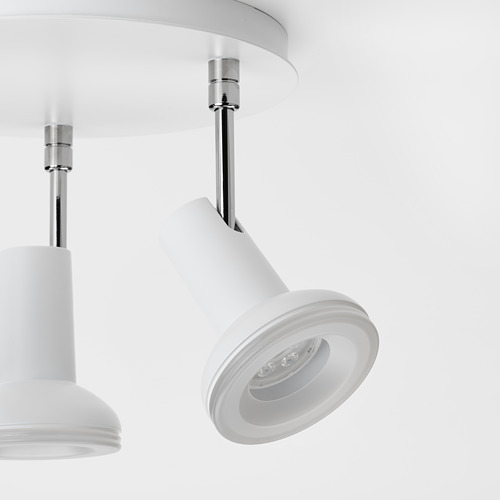 STRATOSFÄR - 三頭天花射燈, 白色/鍍鉻 | IKEA 香港及澳門 - PE810166_S4