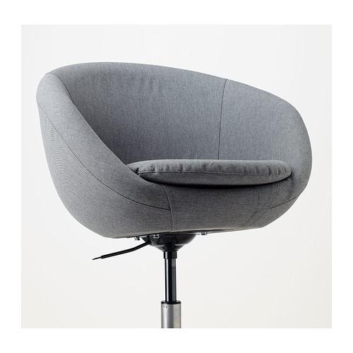 SKRUVSTA - swivel chair, Vissle grey | IKEA Hong Kong and Macau - PE405455_S4