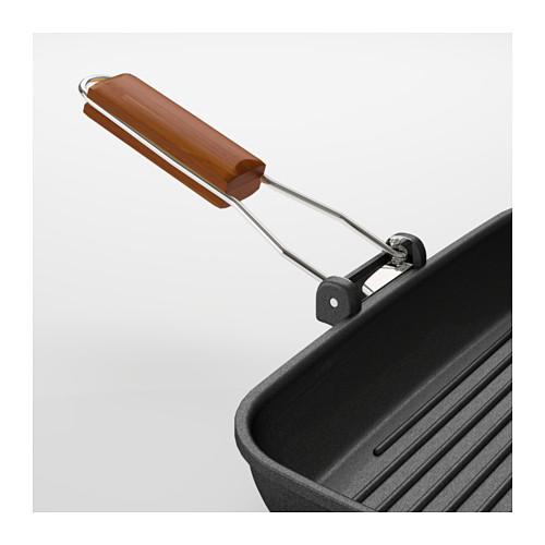 GRILLA - 烤鑊, 黑色, 長36厘米, 闊26厘米 | IKEA 香港及澳門 - PE610919_S4