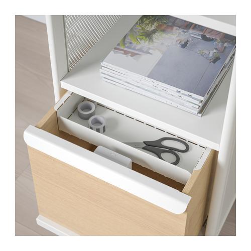 BEKANT - 貯物組合連智能鎖, 網狀 白色 | IKEA 香港及澳門 - PE713934_S4