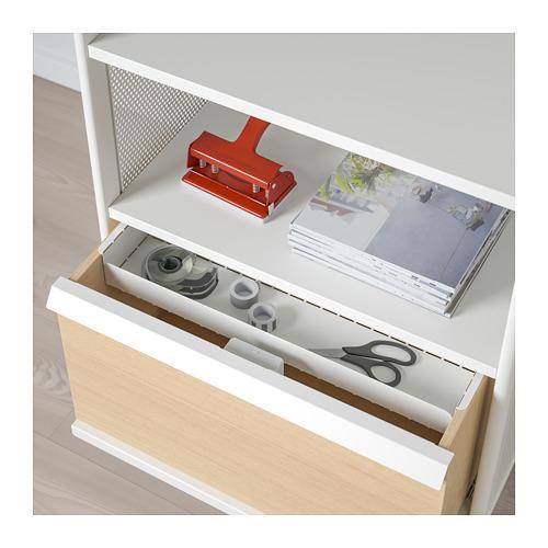 BEKANT - storage unit with smart lock, mesh white | IKEA Hong Kong and Macau - PE713938_S4