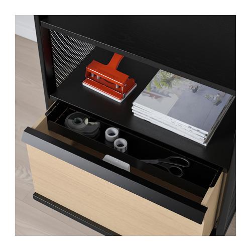 BEKANT - storage unit with smart lock, mesh black | IKEA Hong Kong and Macau - PE713936_S4