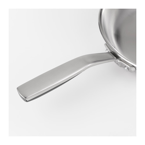 SENSUELL - 平底鑊 28厘米, 不銹鋼/灰色   IKEA 香港及澳門 - PE610948_S4