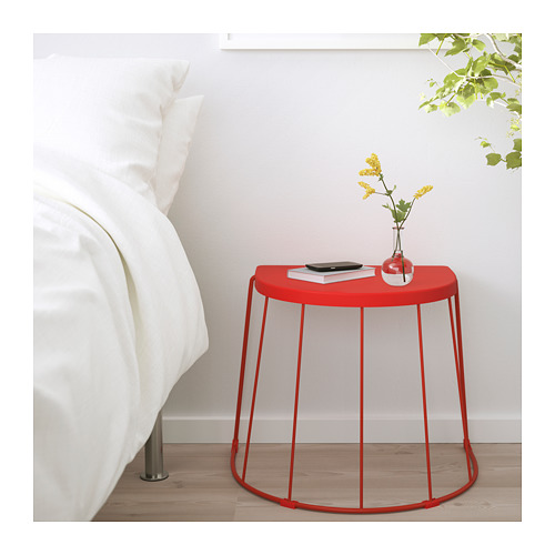 TRANARÖ - stool/side table, in/outdoor, red | IKEA Hong Kong and Macau - PE714013_S4