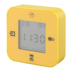 LÖTTORP - 時鐘/溫度計/鬧鐘/計時器, 黃色 | IKEA 香港及澳門 - PE754181_S3