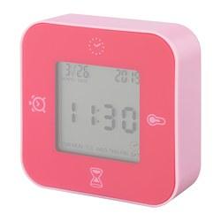 LÖTTORP - 時鐘/溫度計/鬧鐘/計時器, 粉紅色 | IKEA 香港及澳門 - PE754185_S3