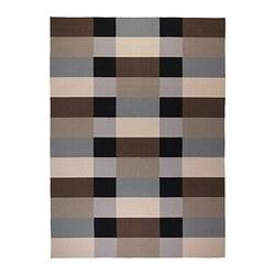 STOCKHOLM - rug, flatwoven, handmade/chequered brown | IKEA Hong Kong and Macau - PE321664_S3