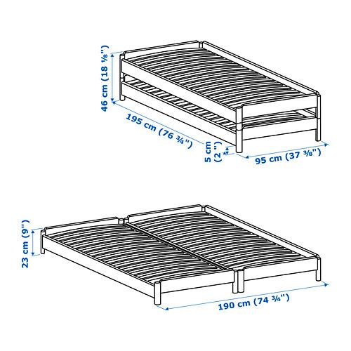 UTÅKER - 疊床, 松木 | IKEA 香港及澳門 - PE754260_S4
