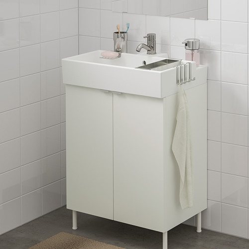 LILLÅNGEN washbasin cabinet with 2 doors