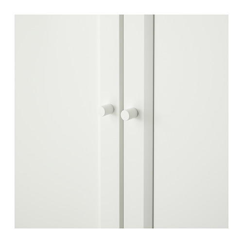 BILLY/OXBERG - bookcase with panel/glass doors, white | IKEA Hong Kong and Macau - PE714093_S4