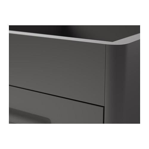 IDÅSEN - 抽屜組合連智能鎖, 深灰色 | IKEA 香港及澳門 - PE714107_S4